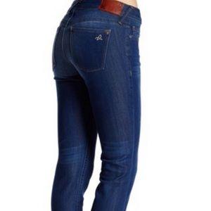 DL1961 Kate Boot Wash Raw Hem Straight Leg Jeans